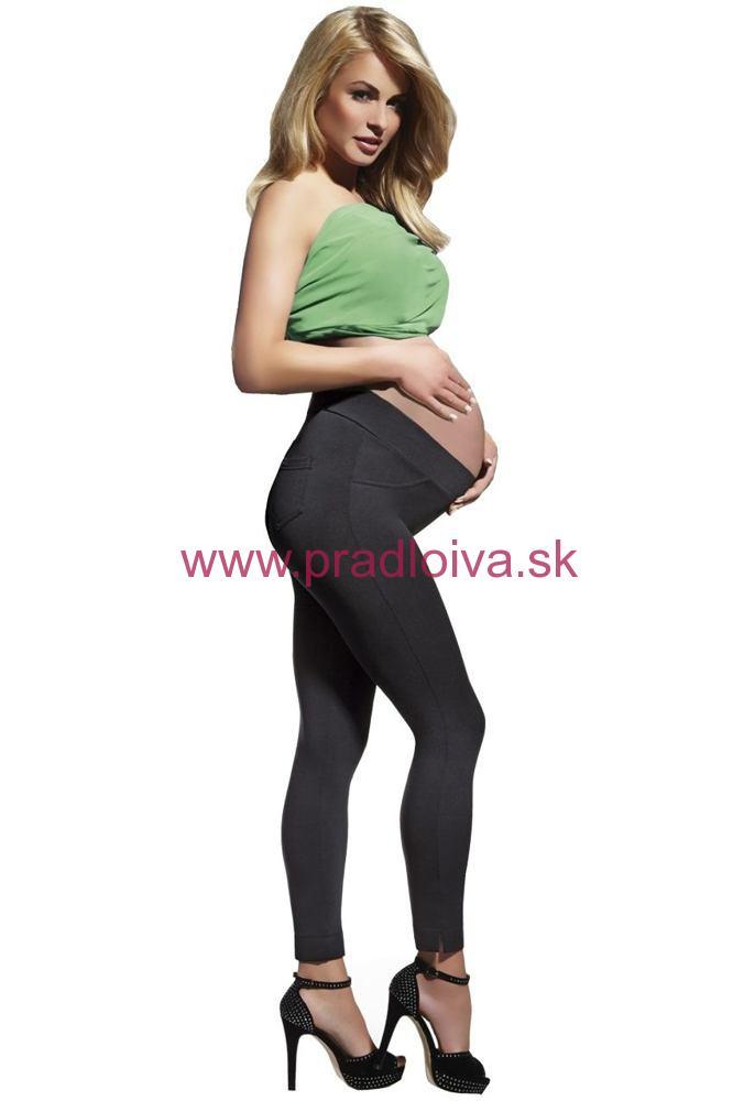 Dámske tehotenské legíny Laura 200 DEN čierne af7582ce61