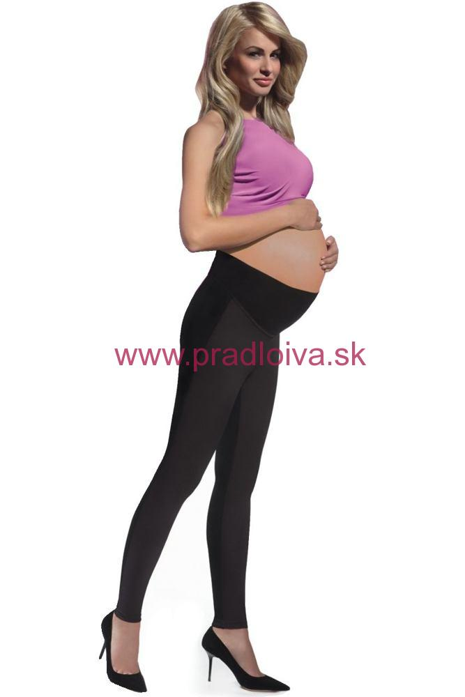 Dámske tehotenské legíny Ami 200 DEN čierne 5155232a14
