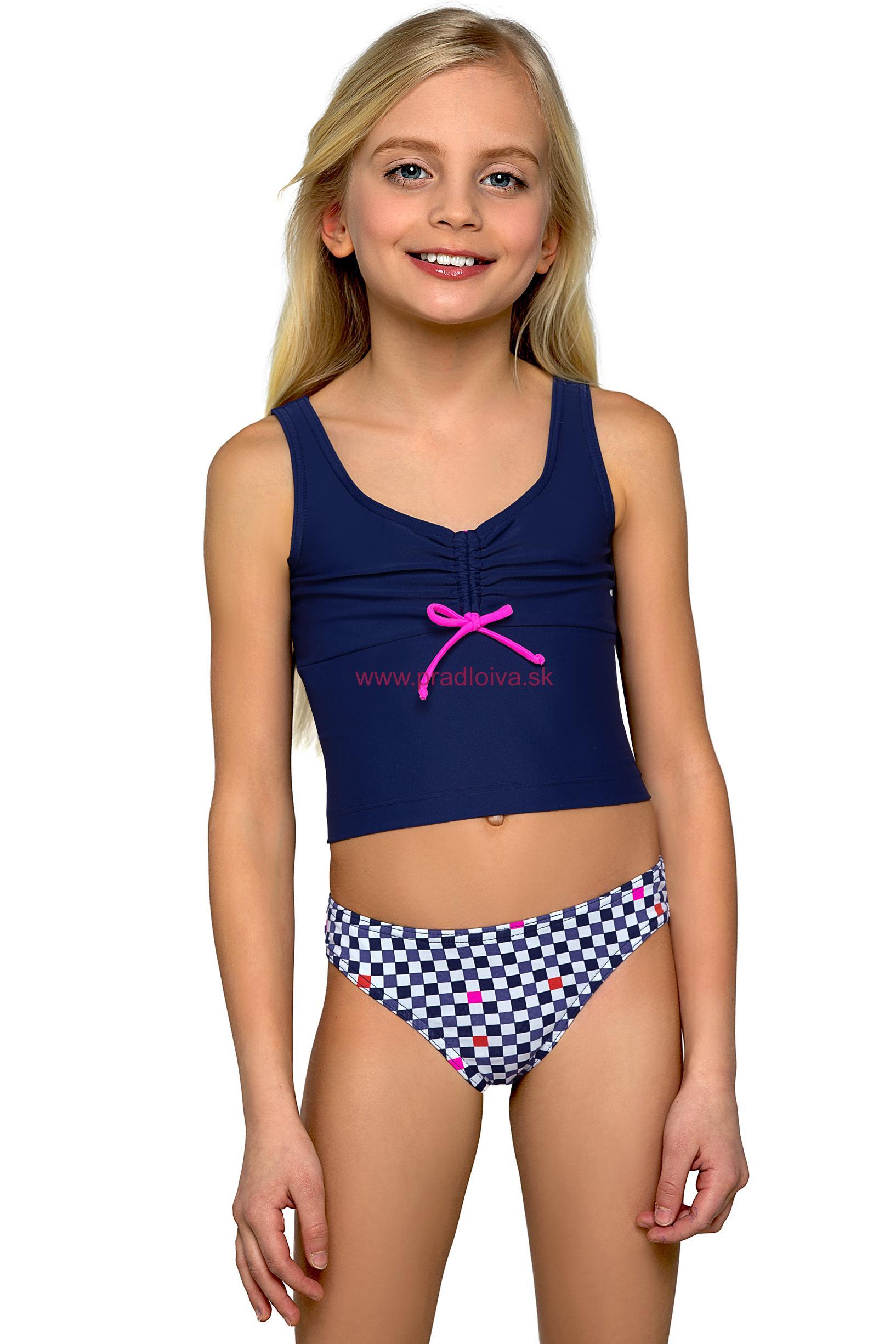 Dievčenské dvojdielne plavky Zuzka  59dc6d5f8a