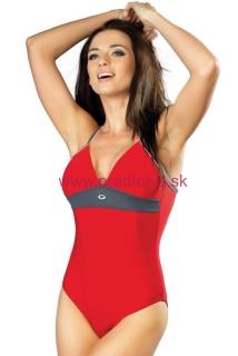 f4858775b16c Jednodielne dámske plavky Rosanna I červené