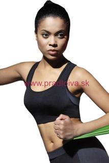 a9bf5435f45 Dámska športová fitness podprsenka Teamtop čierna