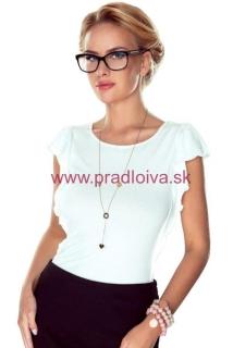 052f95579c Dámske elegantné tričko z viskózy Tammi biele